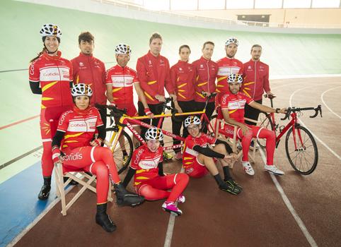 El Equipo Cofidis de Promesas Paralímpicas de Ciclismo