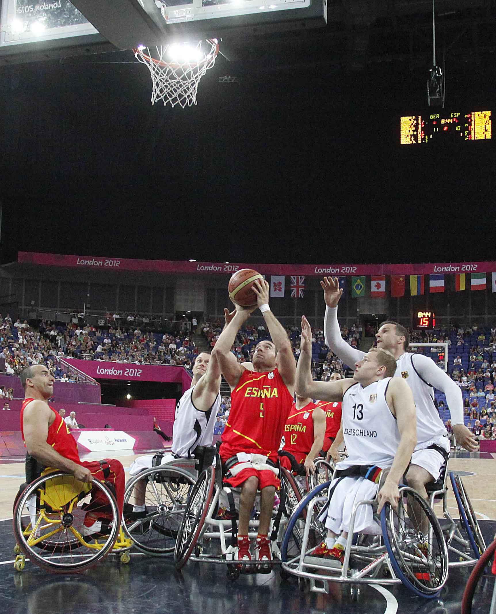 Baloncesto en silla de ruedas paral mpicos - Baloncesto silla de ruedas ...