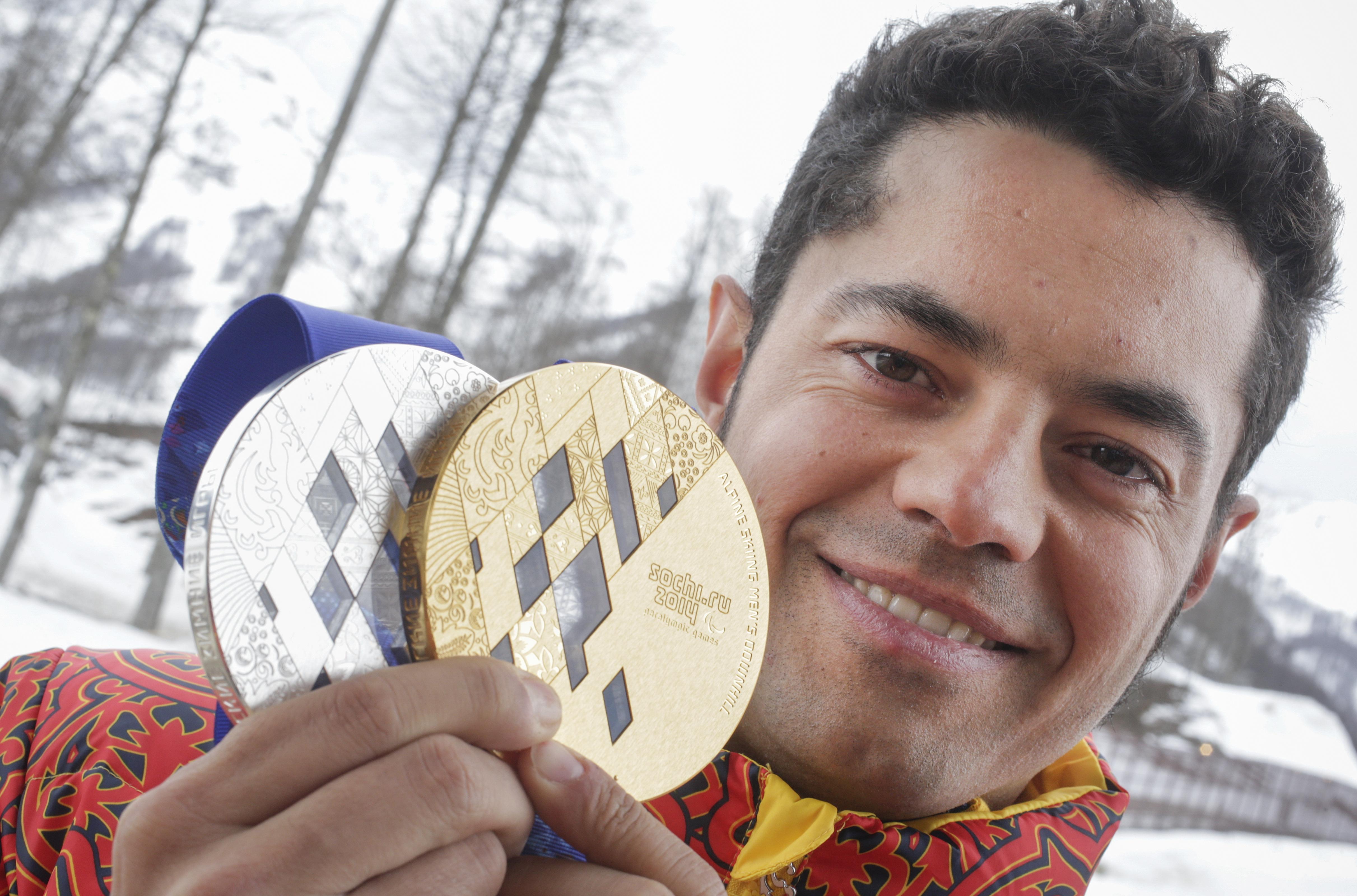 Miguel Galindo en Sochi 2014