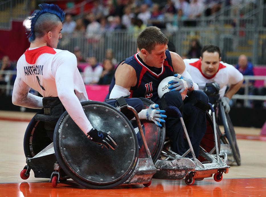 Rugby en silla de ruedas paral mpicos - Deportes en silla de ruedas ...