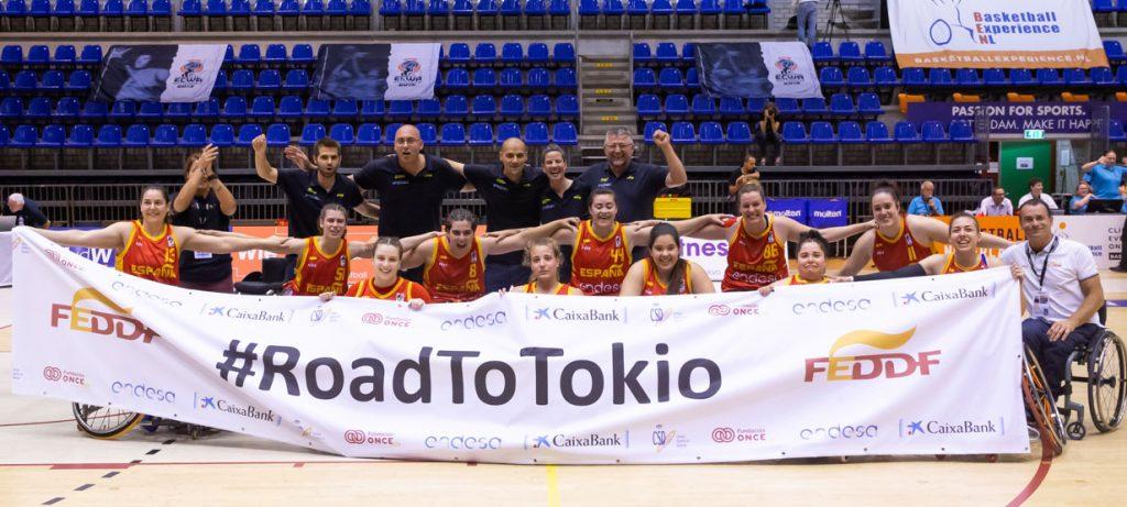 El equipo femenino