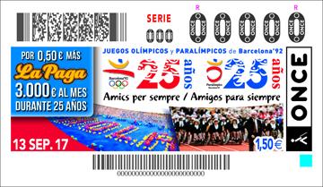 El 25 Aniversario De Los Juegos Olimpicos Y Paralimpicos De