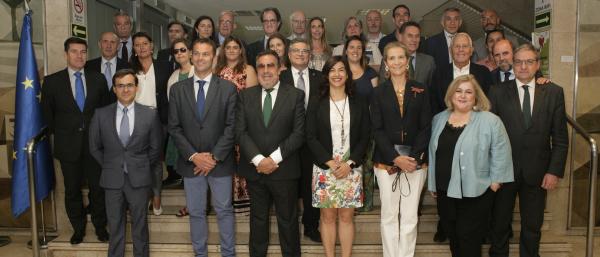 Foto de familia de la Asamblea del Comité Paralímpico Español
