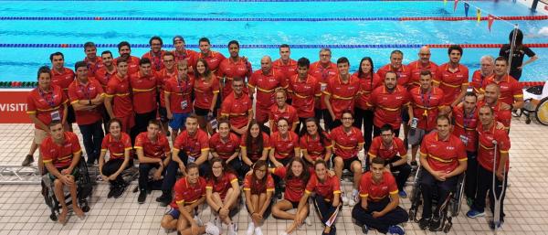 La delegación española en Londres