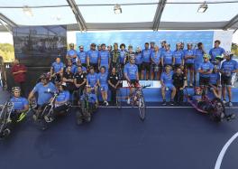 Una de los eventos de deporte inclusivo con Fundación Sanitas