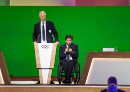 Los presidentes de los comités Olímpico y Paralímpico Italianos