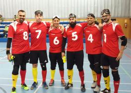 La selección española de goalball