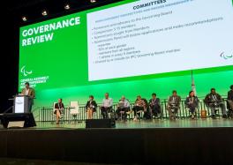 Presentación de las propuestas de cambio en los órganos de gobierno del IPC