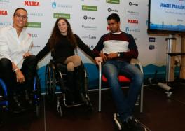 Los paralímpicos participantes