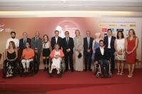 Foto de familia en el acto de bienvenida del IPC Gathering Madrid 2018
