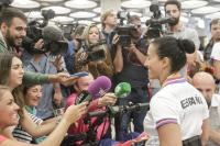 Entrevistas a Teresa Perales tras los Juegos de Río 2016