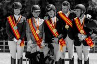 Los nuevos campeones de España