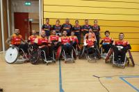 La selección española de rugby en silla de ruedas