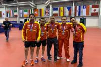 Los medallistas españoles