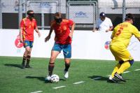 Momento del España-Rumanía