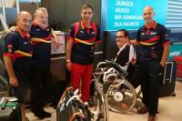 La delegación española en Sídney