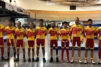 La selección española en anadia