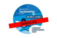 Cancelación de las Series Mundiales de natación