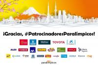 #PatrocinadoresParalímpicos